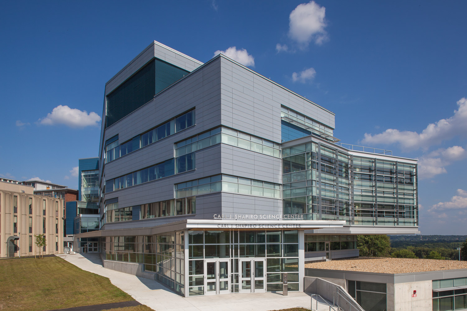 Brandeis, Science Center, Waltham, MA